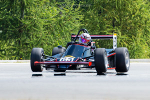 BRNO, Czech Republic - 06. Juli 2014: ADAC HAIGO Historic Formel Cup, Rennen 2, Falk Schwarze, MTX 1-06